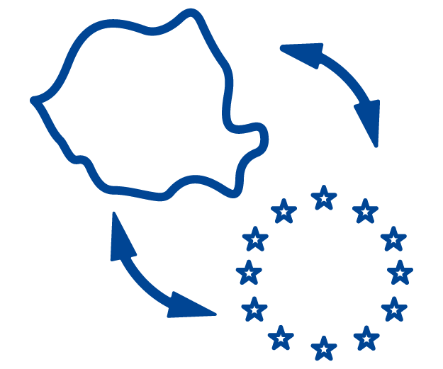Stimulate collaboration on digital projects that help further integrate Romania into the European Union