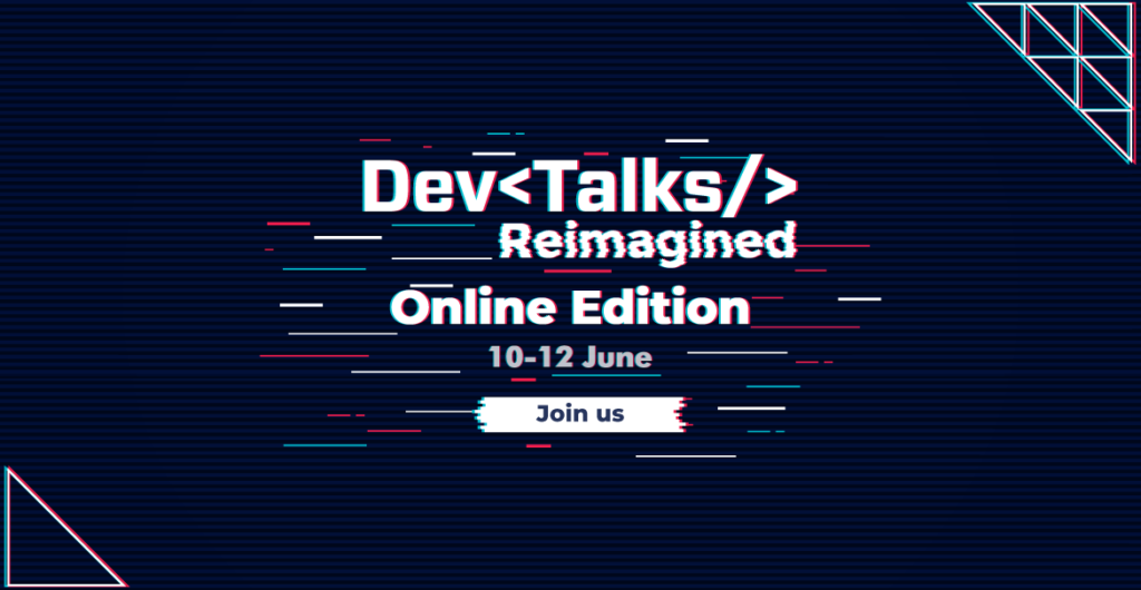 Register for DevTalks Reimagined!