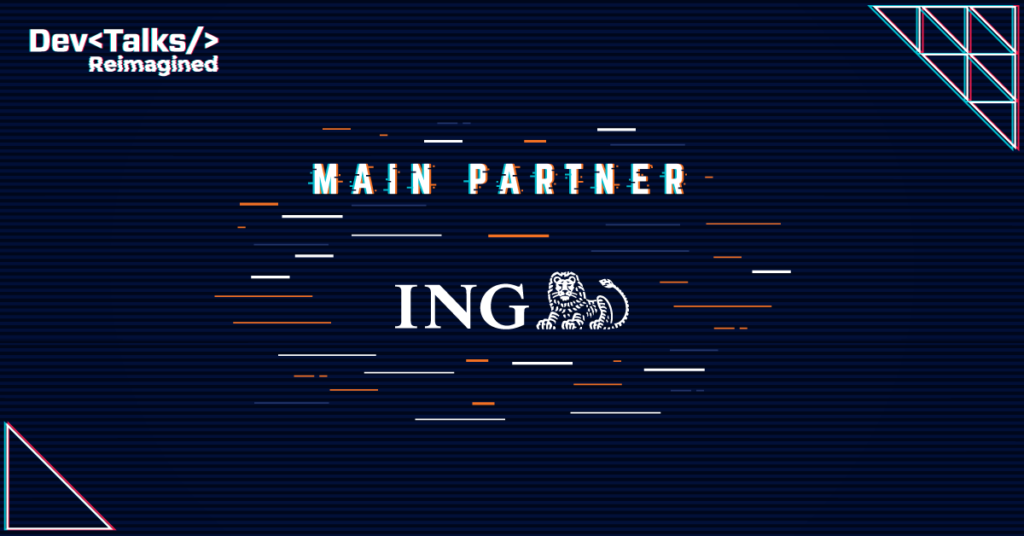 ING Bank – Main Partners for DevTalks Reimagined
