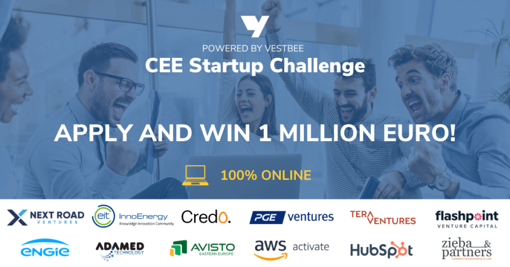 Join The Biggest 100% Online Startup Challenge In Central & Eastern Europe!