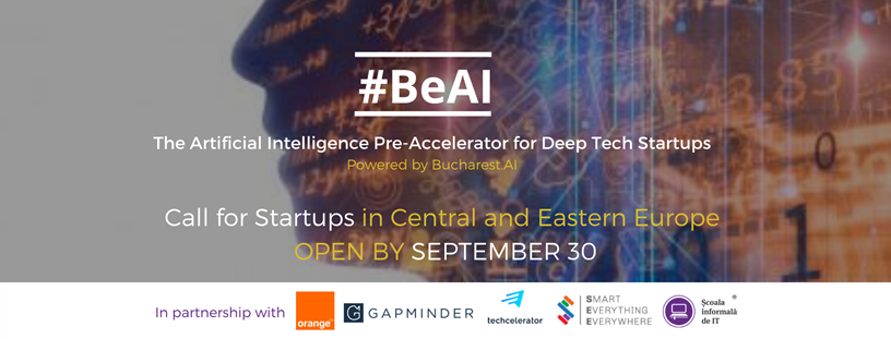 First AI Pre-Accelerator in Romania to Kickstart this Fall