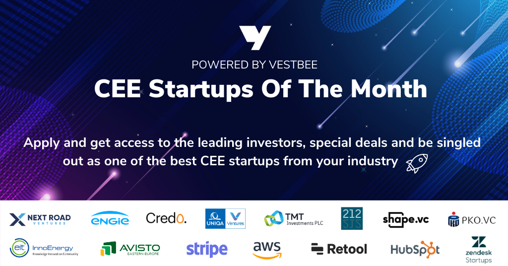 Join CEE Startups Of The Month & Get Funded!